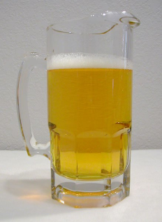 Engraved 1 Liter Beer Pitcher