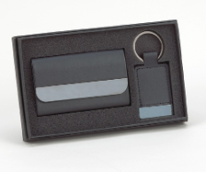 Boxview Business Card Case and Keychain Gift Set