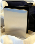 Engraved Silver Plated Photo Album