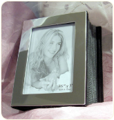 High Polished Silver Photo Album