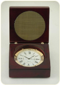 Engravable Wood Desk Clock