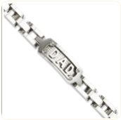 Men's Bracelet - Stainless Steel Polished