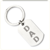 Keychain for Dad - Personalized