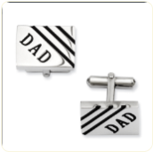 Dad Cuff Links Stainless Steel