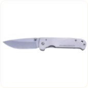 Engravable Rostfrei™ Frame Lock Knife