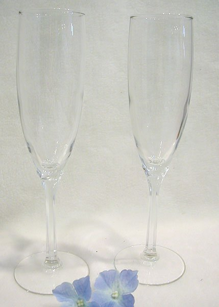 Engraved Wedding Champagne